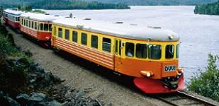 Rälsbuss De Vackra Vyernas Järnväg